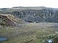 Abandoned quarry below Threlkeld Knotts - geograph.org.uk - 631034.jpg