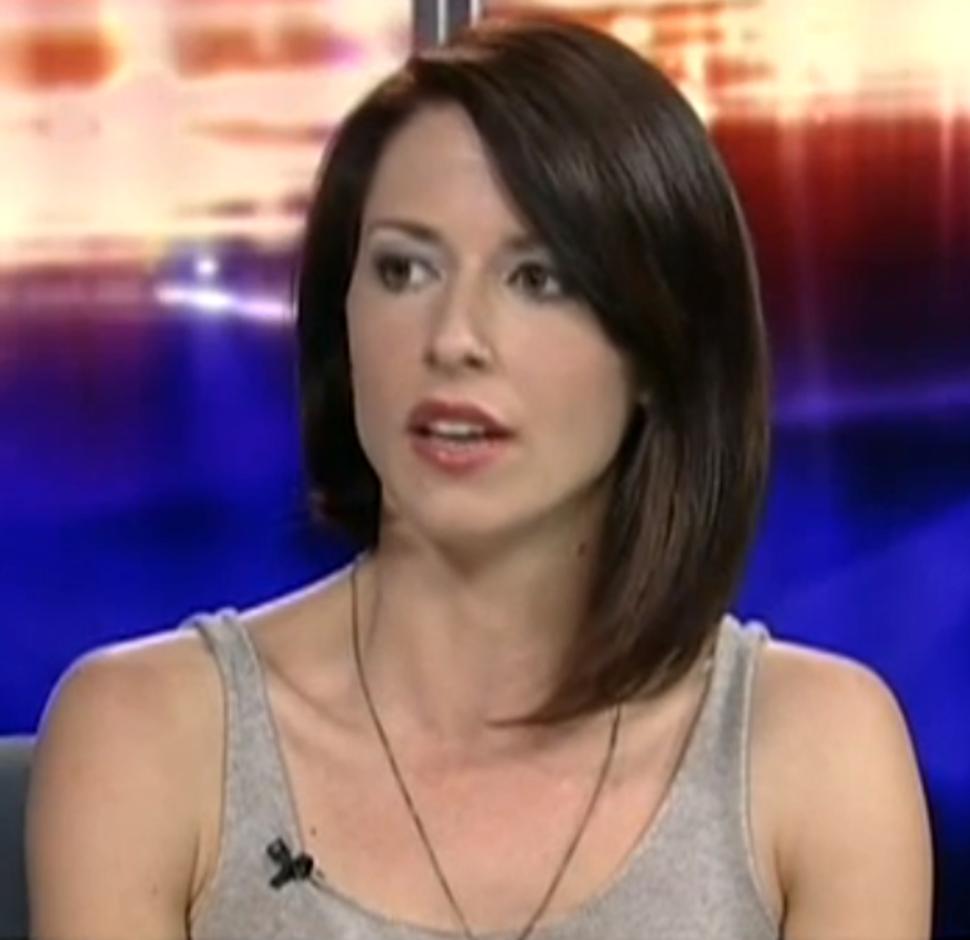 Abby Martin RT correspondent