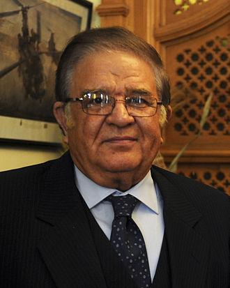 Abdul Rahim Wardak - Image: Abdul Rahim Wardak, Dec. 17, 2011