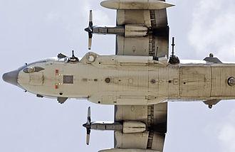 Lockheed AC-130 - Underside of an AC-130U Spooky