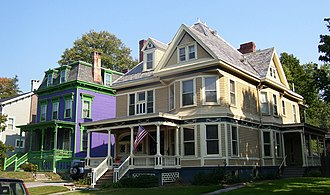 National Register of Historic Places listings in Poughkeepsie, New York - Image: Academy Street, Poughkeepsie, NY