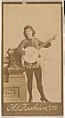 Actress playing banjo, from the Actresses series (N664) promoting Old Fashion Fine Cut Tobacco MET DPB869714.jpg