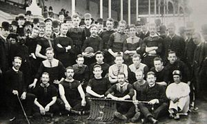 Adelaide Football Club (SAFA) - Adelaide's 1886 premiership team.