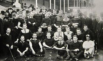 1886 SAFA season - Image: Adelaide Football Club 1886