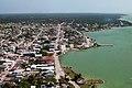 Aerial of Corozal Town, Belize.jpg