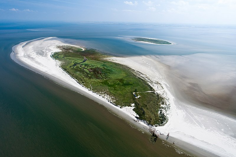 Bestand:Aerial photo of Rottumeroog.jpg