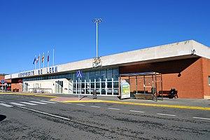 León Airport - The former terminal