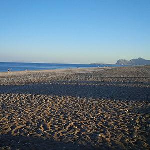 Afantou - Afantou beach, one of the longest beaches on the island
