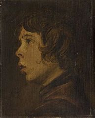 Portrait of a Boy facing Left