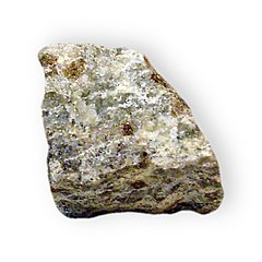 Afwillite 2 on rock Hydrous calcium silicate Crestmore Quarry Riverside California 2068.jpg