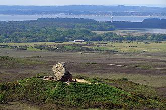 Agglestone Rock - Agglestone Rock on Black Heath, near Studland
