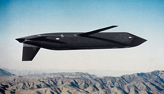 2007 United States Air Force nuclear weapons incident - AGM-129A cruise missile in flight