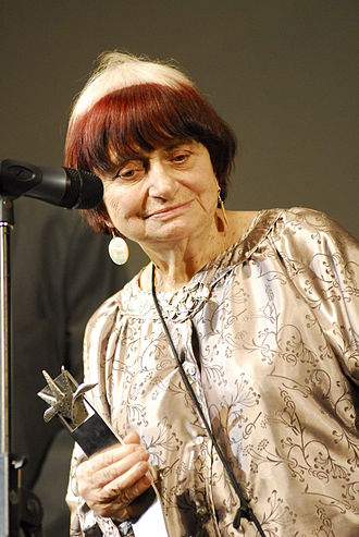 Agnès Varda - Varda receiving an honour at the Guadalajara International Film Festival, 2010