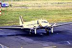 Air Luton DC-3 G-ANAP at NCL (16143134805).jpg