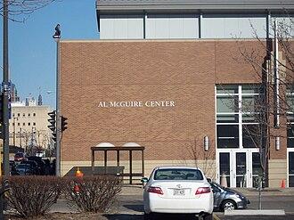 Al McGuire Center - Image: Al Mc Guire center 1