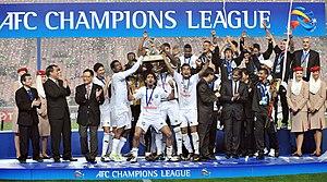 2011–12 Al Sadd SC season - Al Sadd celebrate after winning 2011 AFC Champions League.