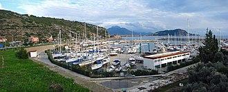 Marinas in Turkey - Alanya Marina. January 2013.