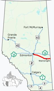 highway in Alberta