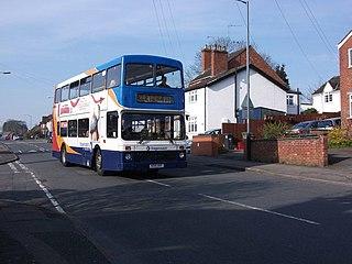 Stagecoach in Warwickshire