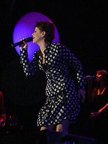 Alessandra Amoroso nel 2009.