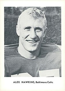 Alex Hawkins American football player