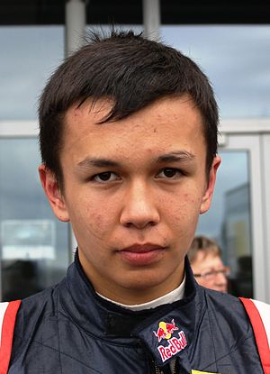 Alexander Albon - Albon in 2012
