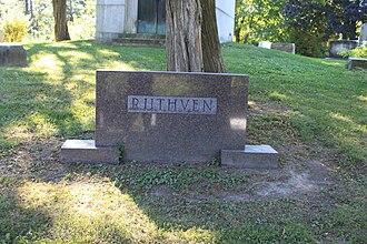 Alexander Grant Ruthven - Ruthven grave