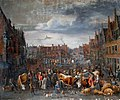 Alexander van Bredael - Cattle Market in Antwerp.jpg