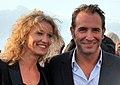 Alexandra Lamy Jean Dujardin Cabourg 2011.jpg