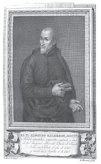 Alfonso Salmeron Spanish biblical scholar and early Jesuit