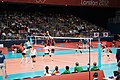 Algeria and Japan women's national volleyball team at the 2012 Summer Olympics (7913947028).jpg
