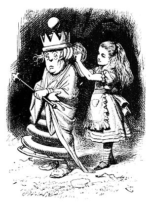 Alice (Alice's Adventures in Wonderland) - Image: Alice and white queen