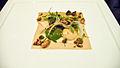 Alinea Short Rib, Guiness, peanut, fried broccoli (2771105943).jpg