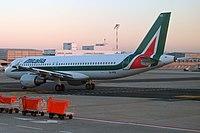 EI-IKB - A320 - Alitalia
