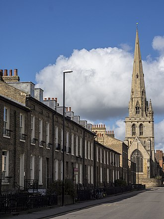 All Saints' Church, Cambridge - Image: All Saints' Church, Jesus Lane from the east