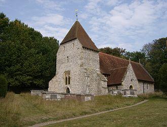 Cuckmere Valley - All Saints Church, West Dean