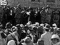 Allenby delivering speech, Jerusalem, May 1918.jpg