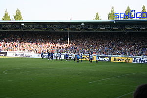 Old East Stand