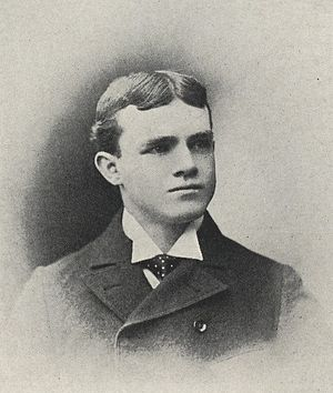 Alpha Jamison - Jamison from 1897 Purdue yearbook