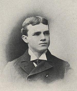 Alpha Jamison - Jamison from 1897 Purdue yearbook
