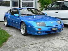 renault alpine gta a610 wikipedia. Black Bedroom Furniture Sets. Home Design Ideas