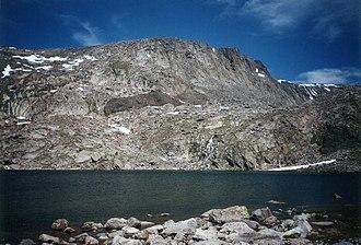 Bighorn Mountains - Image: Alpinelake Bighorns
