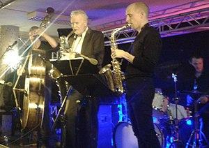 Frode Nymo - Nymo and John Pål Inderberg with  Bjørn Alterhaug Quintet at Vossajazz 2016.