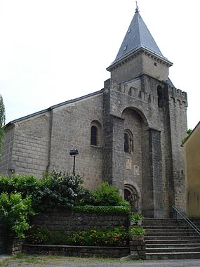 Alzon (Gard, Fr) church.JPG