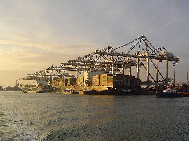 The Port of Rotterdam. Photo by Joris