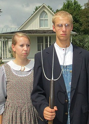 American Gothic - Image: American Gothic Dress Up