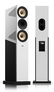 3-way full-range floorstanding home loudspeaker krypton3 by amphion  loudspeakers
