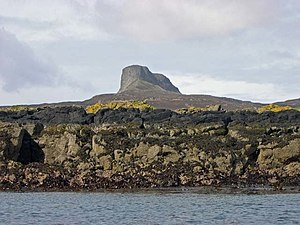 Eigg - The coast at Kildonnan