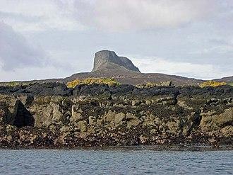 Eigg - The coast at Kildonnan