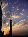 An evening at Taj mahal.JPG